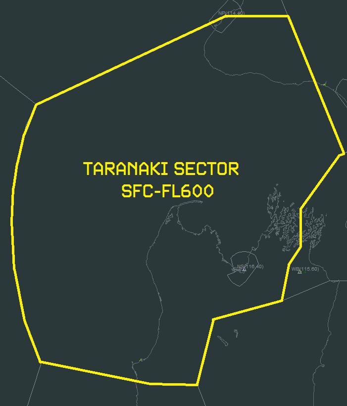Controllers/Standard Operating Procedures/Taranaki Sector Procedures/Taranaki Sector Diagram