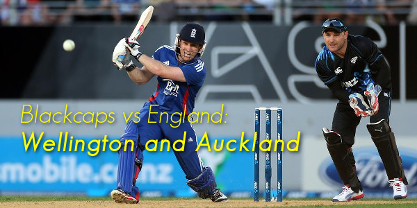 Blackcaps vs England: Wellington and Auckland