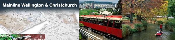 Mainline Trunk - Wellington and Christchurch