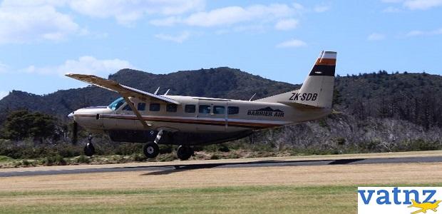 Barrier Air Auckland Hamilton