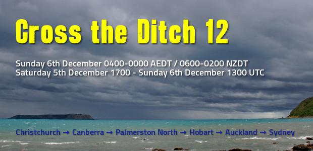 Cross the Ditch 12 - Summer 2015