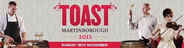 Toast Martinborough 2012